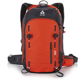 Arva R32 Airbag Reppu, orange